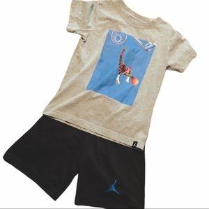 Jordan outfit boys size 7